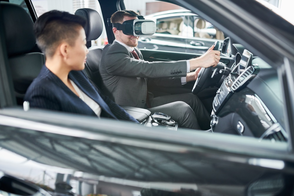 Inside Virtual Reality Car Showrooms: The Latest Automobile Selling Tool