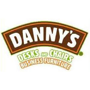 dannys desk & chairs business furniture logo