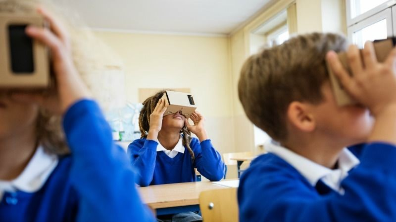 The Exciting Use of VR in Classrooms