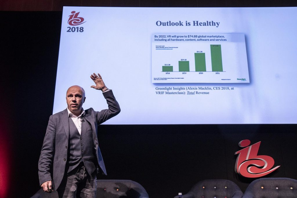 IBC 2018 Takeaway: Virtual Reality Set for Lift Off in 2019