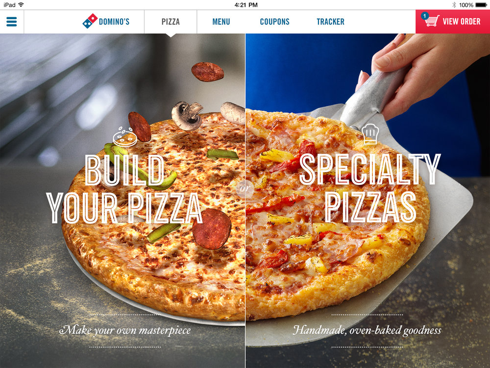 Ordering DIY Pizza is Better with Domino's AR App New Pizza Chef