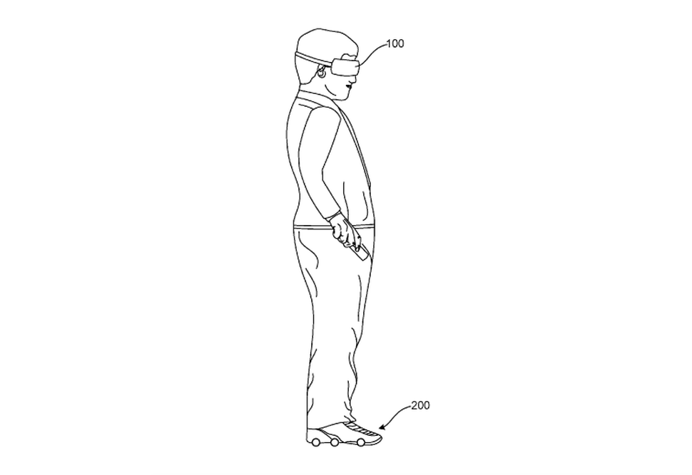 Google Applies Patent for Virtual Reality Footwear